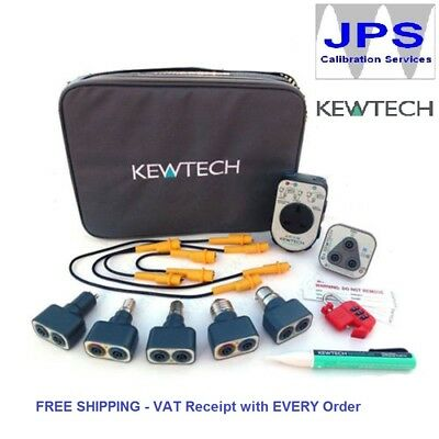 Kewtech KEWTK1 Electrical Test Testing Adaptor Tool Kit JPST029