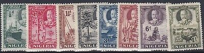 Nigeria  1936  S G 34 - 41   Various Values To 1/-  Mh