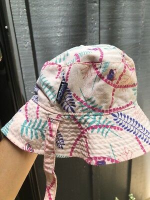 Patagonia infant Sun bucket Hat 6-12 Month
