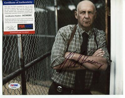 CASTAWAY justified NICK SEARCY autograph HAND SIGNED PSA DNA COA 2132