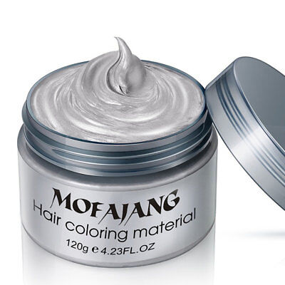 Hair Coloring Material Styling Hair Wax Disposable Hair Dye Mud Easy To Wash BJ