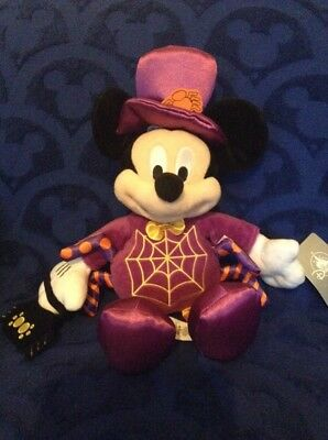 Disney store Florida Mickey Mouse Halloween Soft toy, rare, New