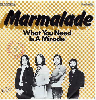 Sg    -    MARMALADE  -  WHAT YOU NEED IS A MIRACLE