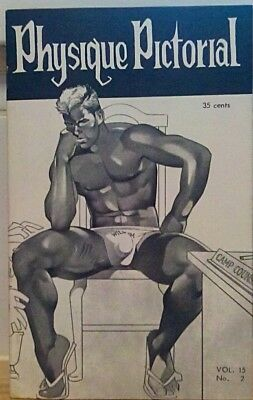Physique Pictorial Volume 15 number 2 1966 gay interest Magazine