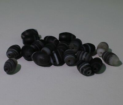 Ancient Carved Agate Beads - No Reserve 0211