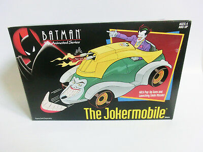 Batman The Animated Series The Jokermobile Misb Neu Ovp Vintage Kenner Figur