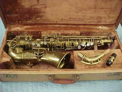Vintage Martin Handcraft Alto Saxophone, Ready to Play Condition. New Pads