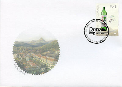 Slovenia 2018 FDC Donat Mg Natural Mineral Water 110th Anniv 1v Set Cover Stamps