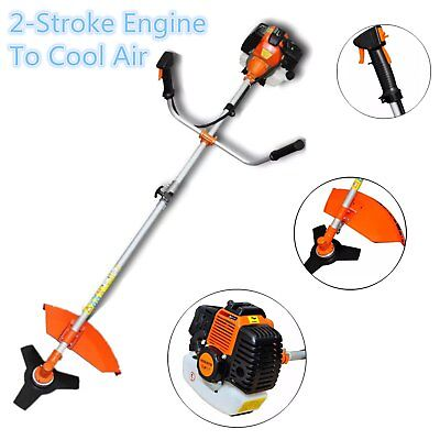 2.2kw 3HP Petrol  Garden Grass Brush Cutter Trimmer Strimmer Edgers 2 Stroke UK