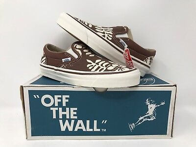 58e3619d22 Vans Slip On 98 Reissue 50Th Stv Aloha Brown Vn0A2Xs4Jvg Rare Men s Size 6  New
