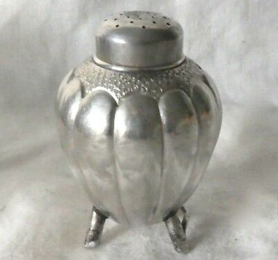 Antique 90 Silver Salt or Pepper Shaker- Asian