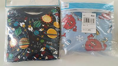New The Children's Place Boys 2 Piece Pajama Set Size 6 & 7