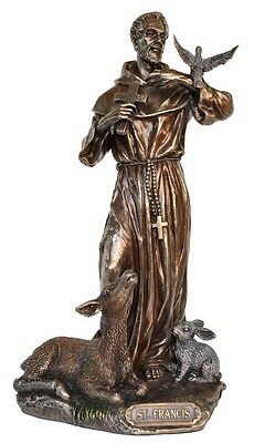 Saint Francis of Assisi Religious Statue 21cm (H) St Francis of Assisi