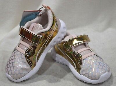 b5902485158 PUMA TODDLER GIRL S Carson 2 Mermaid Pearl Sneakers-Size 5 7 9C NWB ...