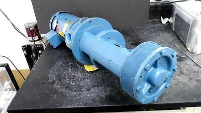 Roth Dv.2L149Sf Vertical Turbine Pump & Baldor Vm3116 1 Hp Motor