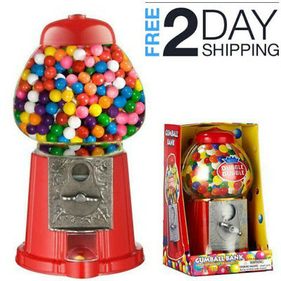 Vintage Gumball Vending Machine Kids Birthday Party Toy Fun Gift New Sweet Bank