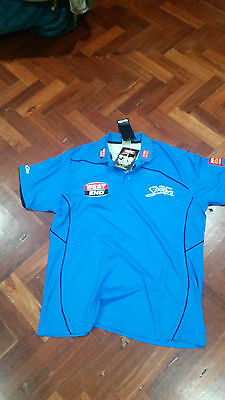 Rare Kooga Adelaide Strikers Players Media Polo XXL.