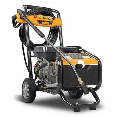 NEW 4800 PSI Petrol High Pressure Washer 8HP Water Blaster Gurney Cleaner 15m