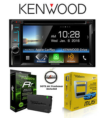 KENWOOD DDX6903S DVD Receiver ADS MUS1 Mustang Kit ADS-MRR ... on