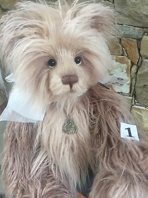 Caroline 1 Large Charlie Bears 56cm Collectable Plush 2018 New Release Bear