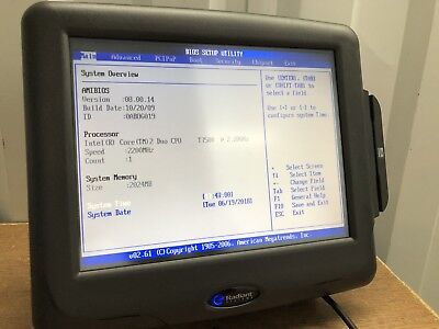 """Radiant  P1560  15"""" ALL-IN-ONE POS SYSTEM INTEL CORE 2 DUO 2.2GHz 160GB HD NO/OS"""
