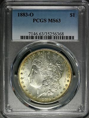 1883-O   Morgan  Dollar   PCGS MS63  (Toned)
