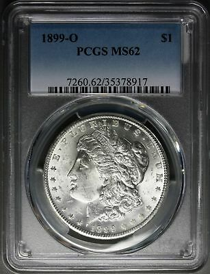 1899-O    Morgan Dollar    PCGS MS62