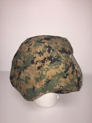 Helmet Cover, ECH, Reversible, MARPAT, Sz: Large