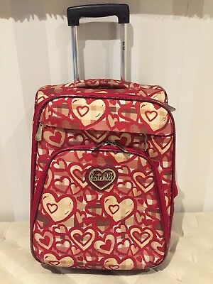 Kate Hill as NEW carry-on suitcase trolley