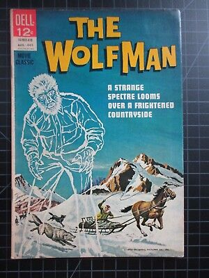 Dell The Wolfman #1 1963 Universal Monsters Movie Classic Vvhtf