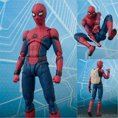 6'' S.H.Figuarts Spider-Man Action Figure SHF Movable Collection Toy With Box