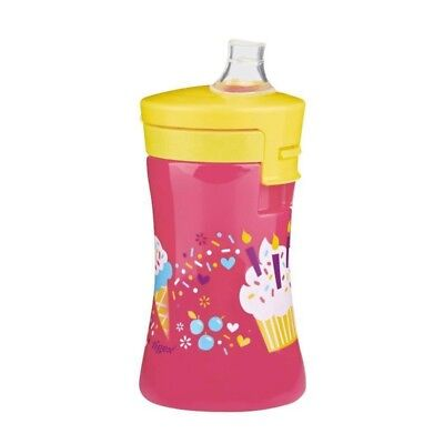TIGEX Tasse Embout Silicone Souple 300 ml Fille Colors