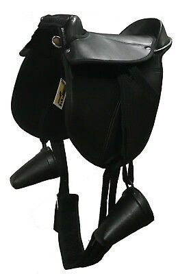Pony Pad~Childs Saddle~INCLUDES Clogs, Girth And Leathers (Toddler~7years)