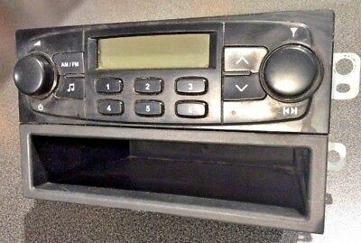 Chevy Am Fm Radio stereo OEM ARA-3106ta With Pocket and Mount Hardware GM