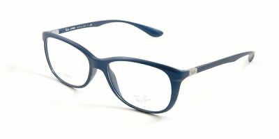e0244036608f0 Ray Ban RX7024 5207 54 Liteforce Unisex Blue Frame Clear Lens Genuine  Eyeglasses