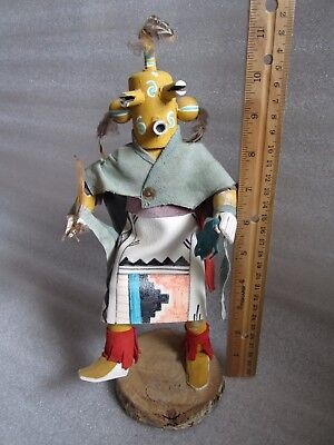 Original Authentic Vintage Native American Indian Hopi Kachina Doll Signed