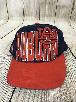 0f537975047f4 ... coupon code for vintage auburn tigers spellout big logo snapback hat  cap 90s ncaa logo 7