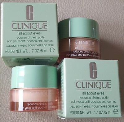 CLINIQUE ☆ all about eyes ☆ Augenpflege ☆ 2x 5 ml Luxusproben