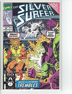 Silver Surfer #52 to #59 8 Book Set 1991 Infinity Gauntlet Crossover High Grade