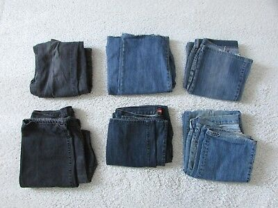BULK SALE Mens Jeans All Size 36 L32/34 - Six Pairs - Lee, Oxford, Connor...