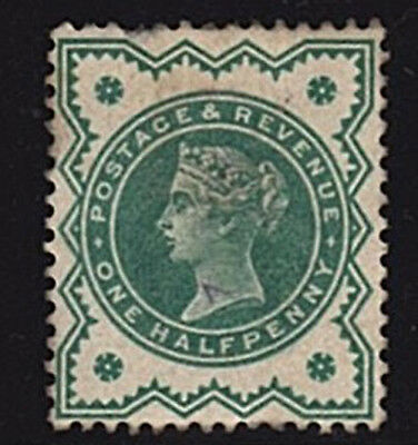 Great Britain GB QV 1887 1/2d Mint Stamp Hinged