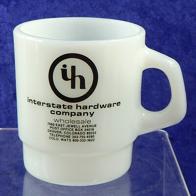 Galaxy Advertising Mug Interstate Hardware Company BiltBest of Colorado WATS