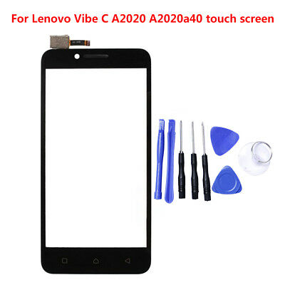 Touch Screen Digitizer Glass Replacement+Tool For Lenovo Vibe C A2020 A2020a40