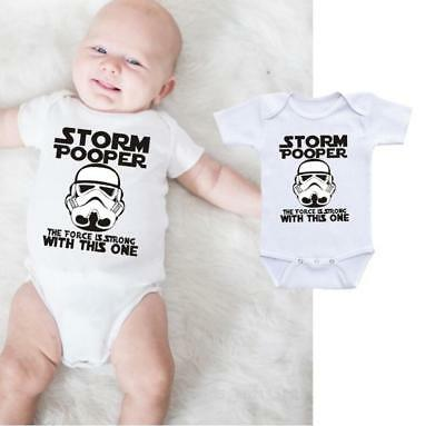 Baby Star Wars Newborn Infant Boy Romper Jumpsuit Kids Children Clothes