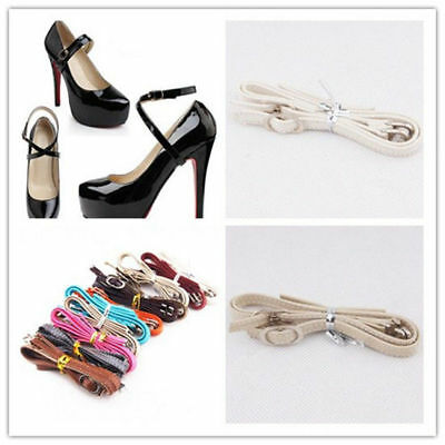 Women's Shoes Shoelaces Leather Shoe High Heeled Shoes Heels Shoe straps