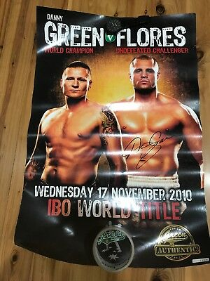 Danny Green Boxing Poster
