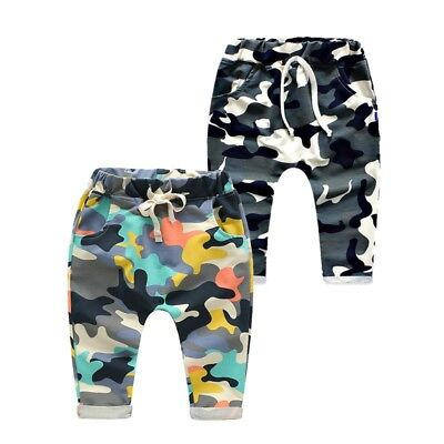 AU Toddler Baby Boys Girls Harem Pants Sweat Pants Joggers Bottoms Long Trousers