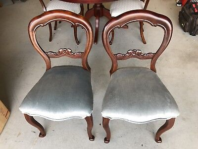 Antique Dining Chairs x 2