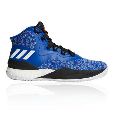 40c72aa843dd adidas Mens D Rose 8 Basketball Shoe Blue Sports Breathable Lightweight  Trainers