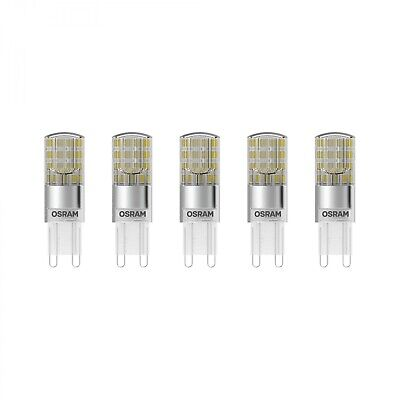 OSRAM LED BASE PIN 30 (360°) Warm White 230V G9 Steckbirne 5er Pack